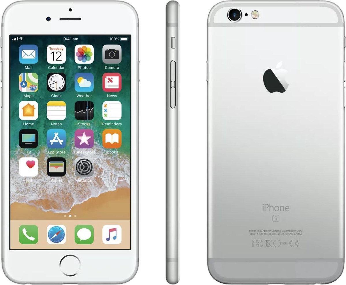 Apple iPhone 6S - Alloccaz Refurbished - B grade (Licht gebruikt) - 64GB - Zilver