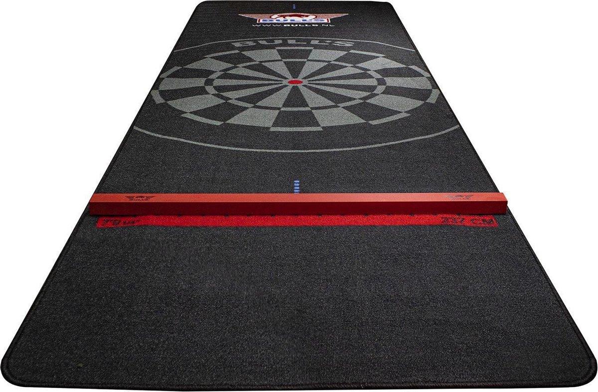 Bull's Carpet Dartmat+Oche 300x95cm