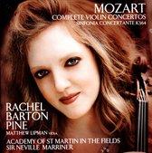 Barton Pine Rachel / Sir Marriner Neville / Ac - Mozart Complete Violin Concerto
