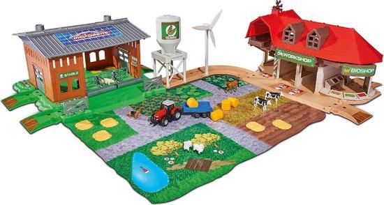 Afbeelding van het spel Majorette Creatix Boerderij met Voertuigen