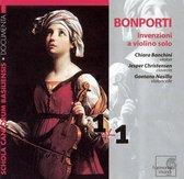Bonporti: Invenzioni a violino solo
