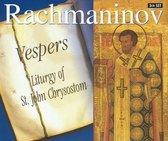 Rachmaninov: Vespers, Liturgy of St John Chrysostom etc / Savchuk et al