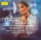 Chopin: Piano Concerto no 1, etc / Pires, Krivine, COE