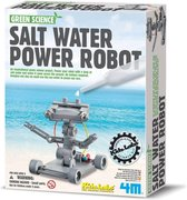 4M Kidzlabs Green Science Salt Water Power Robot