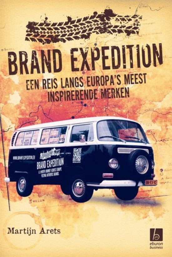 Boek cover Brand expedition van Martijn Arets (Hardcover)