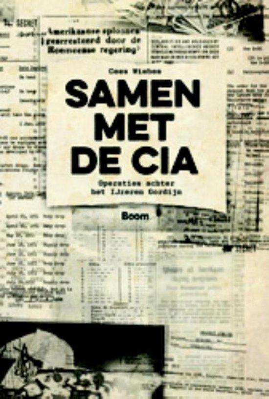 Boek cover Samen met de CIA van Cees Wiebes