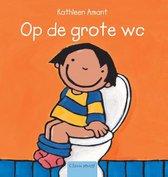 Boek cover Op de grote wc van Kathleen Amant (Hardcover)