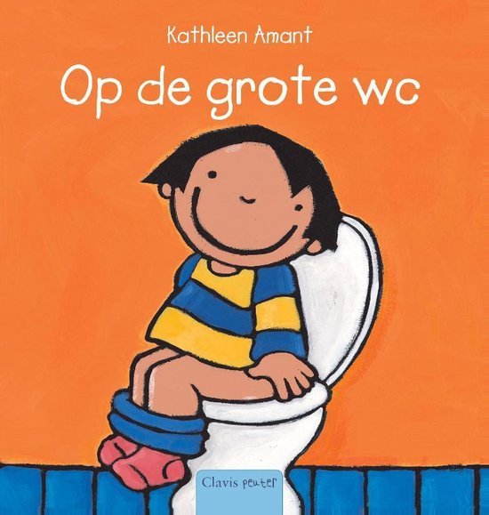 Cover van het boek 'Op de grote wc' van Kathleen Amant