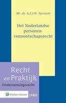 Recht en Praktijk - Ondernemingsrecht 8 -   Het Nederlandse personenvennootschapsrecht