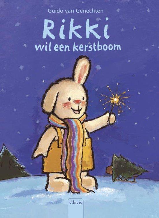 Boek cover Rikki wil een kerstboom van Guido van Genechten
