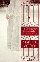 Boek cover Rode Sneeuw In December van Simone van der Vlugt