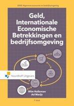 Boek cover Geld, internationale economische betrekkingen en bedrijfsomgeving van Wim Hulleman