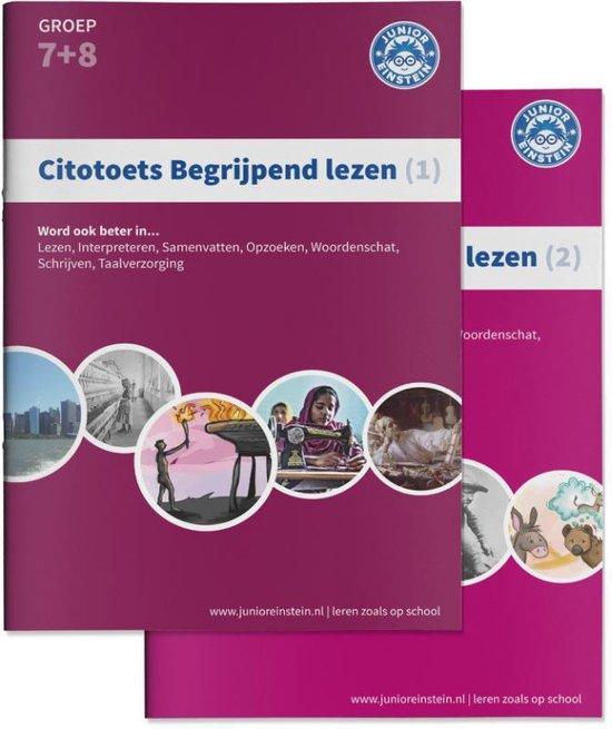 Boek cover Citotoets begrijpend lezen 1; Groep 7+8 van  (Paperback)