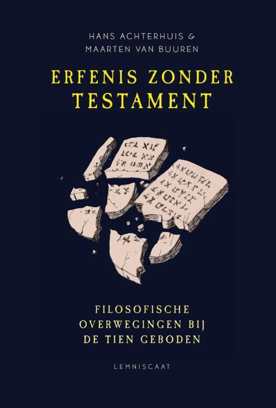 Boek cover Erfenis zonder testament van Hans Achterhuis (Paperback)
