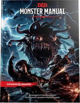 Dungeons and Dragons - Monster Manual 5th Edition (D and D) /Games