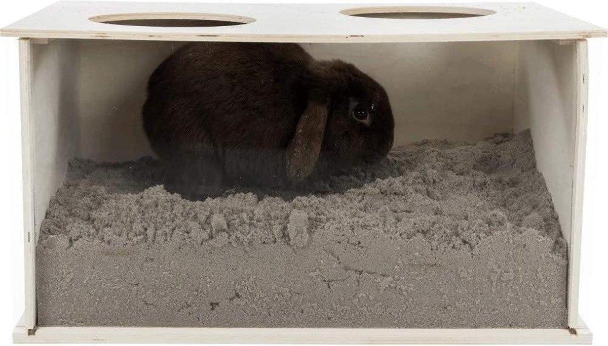 Trixie graafbak voor konijnen 58x38x30 cm
