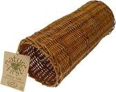 Happy Pet Wilgen Tube - Large - 32 x 15 x 15 cm - Bruin