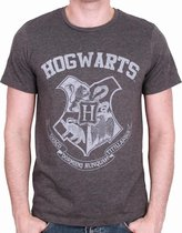 HARRY POTTER - T-Shirt Hogwarts - Grey (XL)