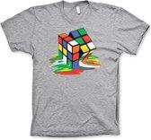 RUBIK'S - T-Shirt Melting Ribik's - MEDIUM GREY (XL)