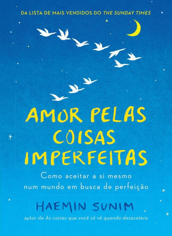 Boek cover Amor pelas coisas imperfeitas van Haemin Sunim (Onbekend)
