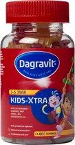 Dagravit Kids-Xtra Dora 3-5 jaar - Multivitamine - Appel/kersen smaak - 60 tabletten