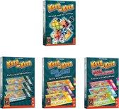 Spellenset - 4 stuks - Keer op Keer - Dobbelspel & Scoreblok 3 stuks Level 1 tot en met 7