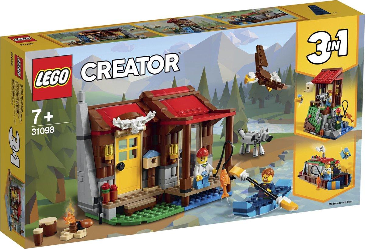 LEGO Creator Hut in de wildernis - 31098