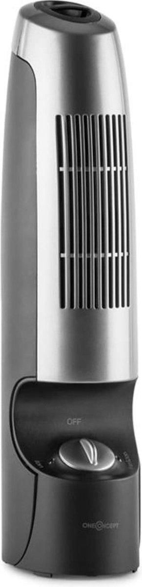 St.-Oberholz 2G Mini-Ionisator & Ventilator zwart/zilver