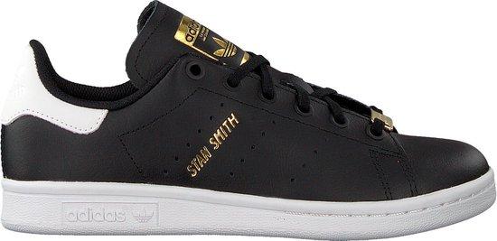 Adidas Jongens Lage sneakers Stan Smith J - Zwart - Maat 38