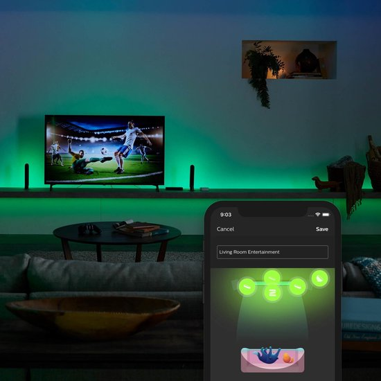Philips Hue Play HDMI Sync Box - incl. HDMI kabel