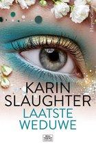 Boek cover Laatste weduwe van Karin Slaughter (Onbekend)
