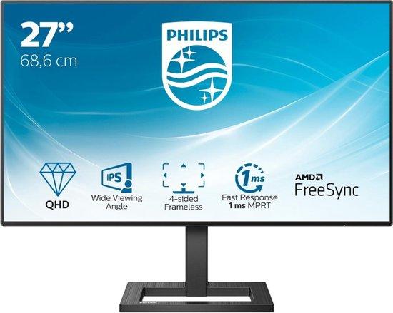 Philips 275E2FAE - QHD IPS Monitor - 27 inch