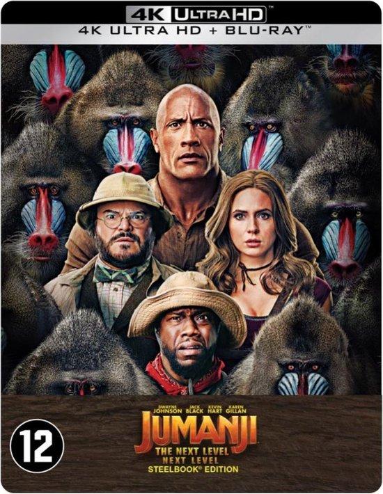 Jumanji: The Next Level (Steelbook) (4K Ultra HD Blu-ray)