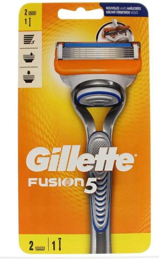 Gillette Fusion5 Scheersysteem + 1 Scheermesje
