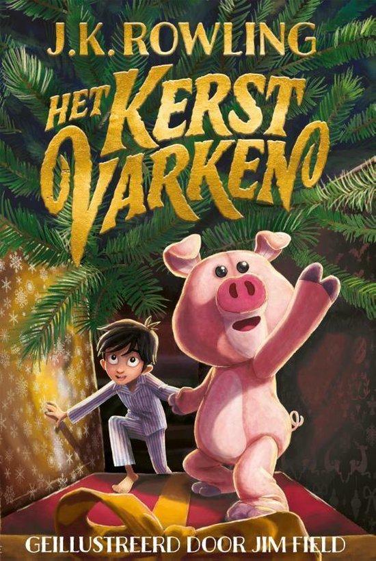 Boek cover Het kerstvarken van J.K. Rowling (Hardcover)