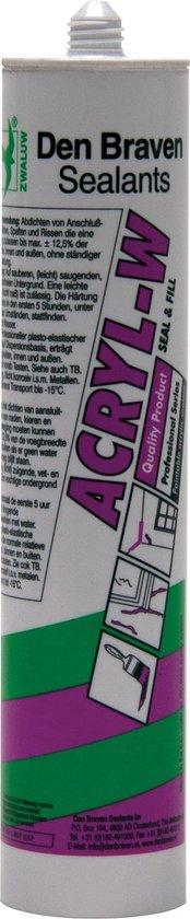 Zwaluw Acrylaatkit - Wit - 310 ml