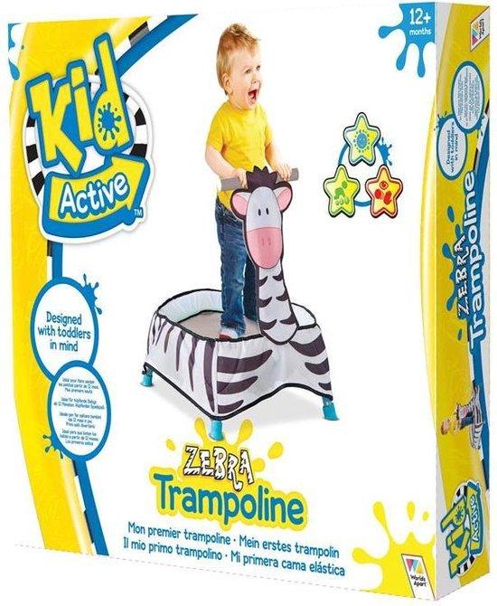 Worlds Apart Zebra Peuter Trampoline