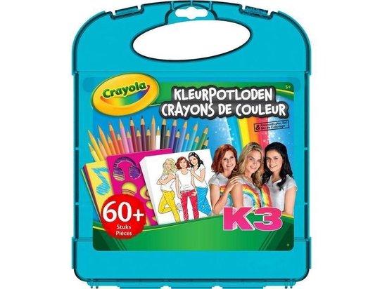 Crayola K3 kleurpotloden tekenkoffer
