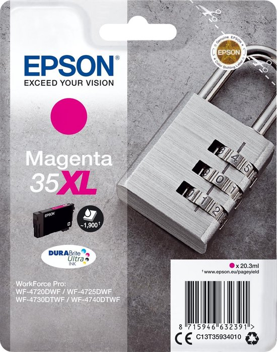 Epson 35XL - Inktcartridge / Magenta