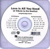 Love Is All You Need (SHOWTRACK CD)