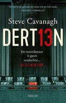 Boek cover Eddie Flynn - Dertien van Steve Cavanagh (Onbekend)