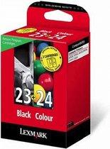 Lexmark 23 / 24 Inkcartridge - Zwart / Cyaan / Mangenta / Geel