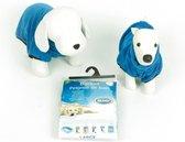 Duvo+ Honden Badjas - Blauw - 68 cm