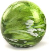 Glasobject Elan Marble mini urn glas green 100 ml