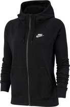 Nike Sportswear Essential Hoodie Full Zip Flock Vest Dames - Maat S