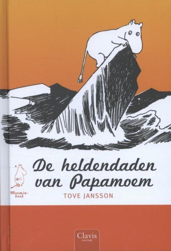 Moeminboek - De heldendaden van Papamoem - Tove Jansson   Readingchampions.org.uk