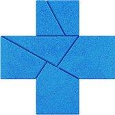 Stenen puzzel: kruis