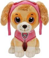 Pluche Paw Patrol knuffel Skye 15 cm - Cartoon knuffels - Speelgoed voor kinderen