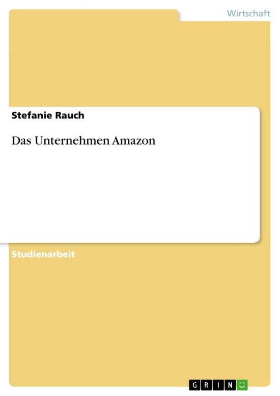 Das Unternehmen Amazon