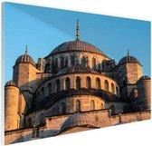 Moskee Midden-Oosten Glas 180x120 cm - Foto print op Glas (Plexiglas wanddecoratie) XXL / Groot formaat!